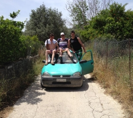 Jungle van Rhodos -